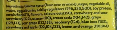 fizzer faves - Ingredients