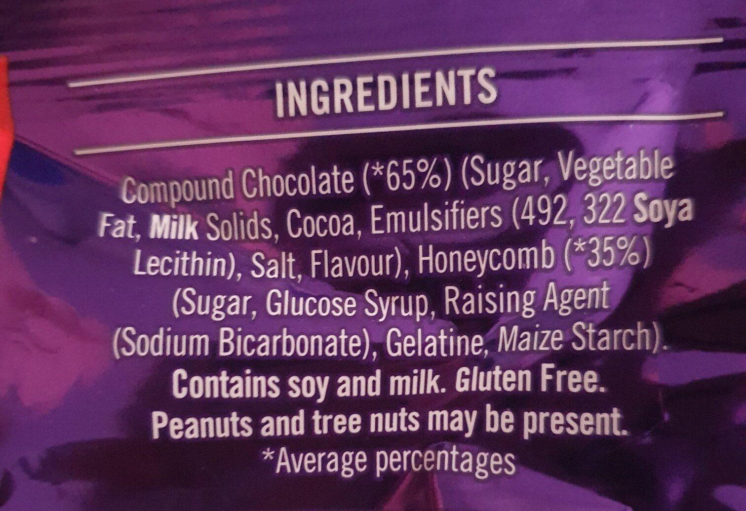 Violet Crumble - Ingredients - en