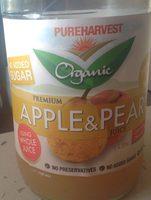 Organic Premium Apple & Pear Juice - Product