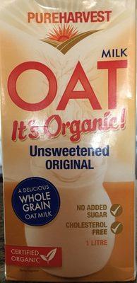 Oat Milk it's Organic Unsweetened Original - Produit - fr
