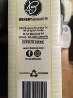Bonsoy Almond Milk - Recycling instructions and/or packaging information - en