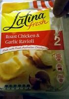Latina Fresh Roast Chicken & Garlic Ravioli - Product - en