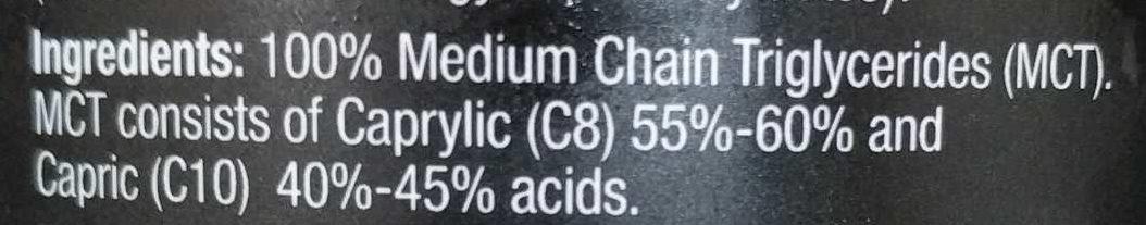 Melrose MCT - Ingredients - en