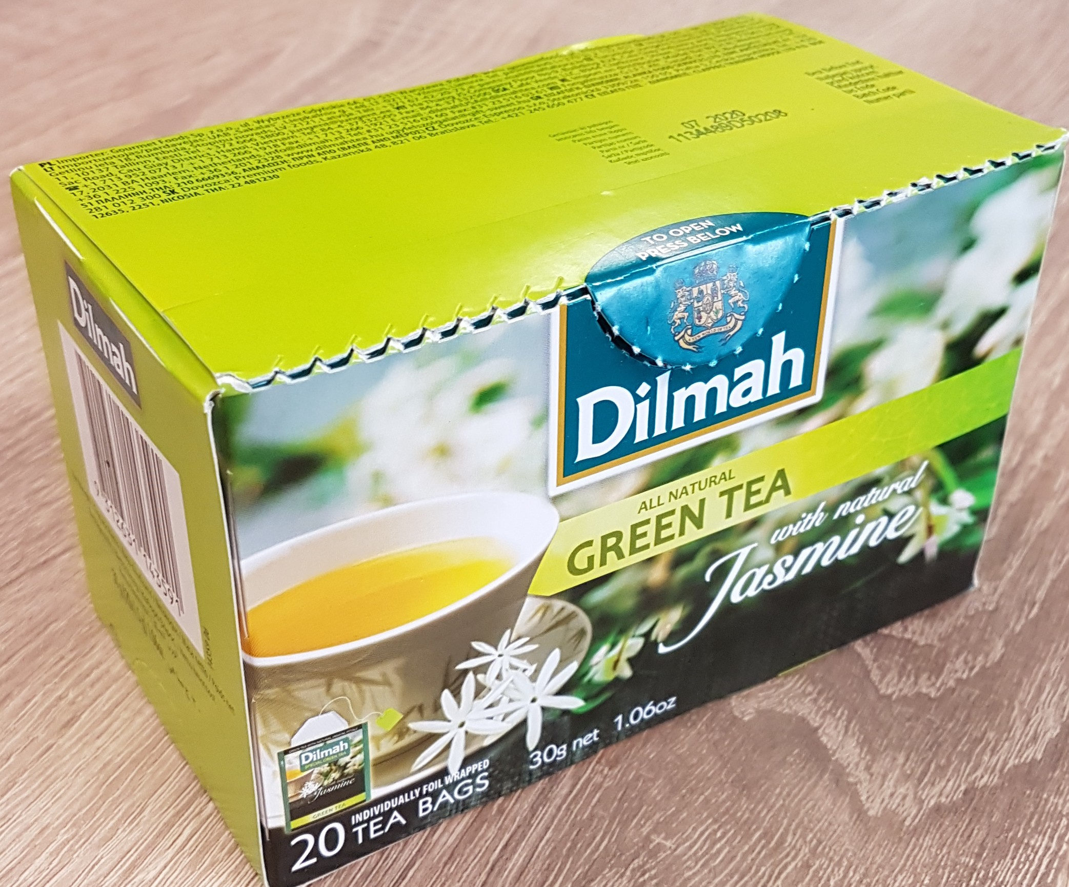 All natural Green Tea - Product - nl