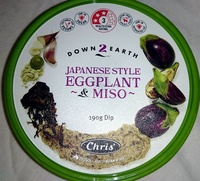Japanese Style Eggplant & Miso Dip - Product - en
