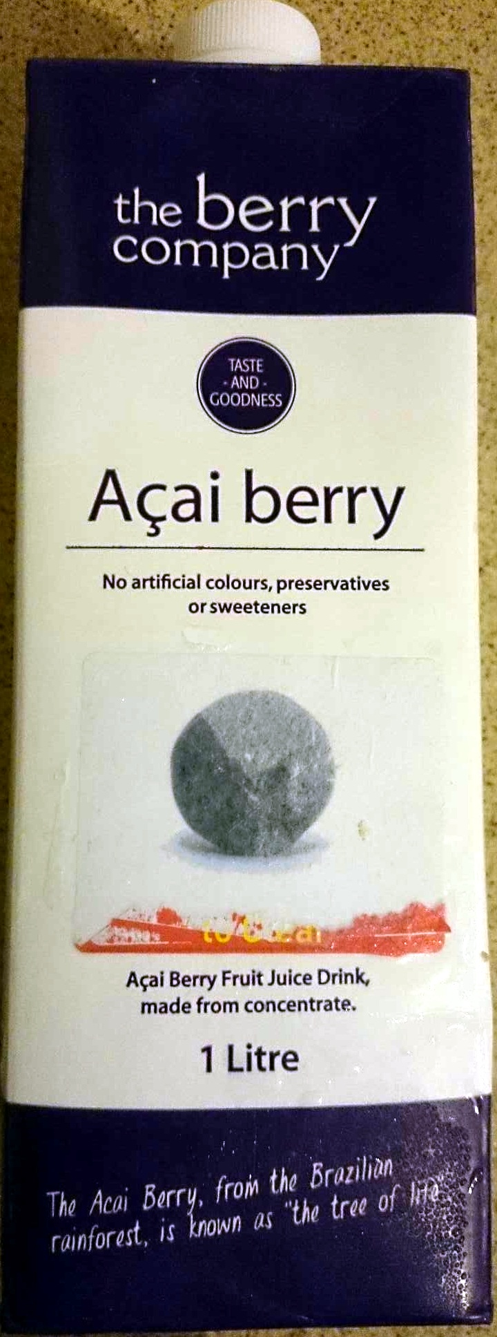 Acai Berry Juice Drink - Product - en