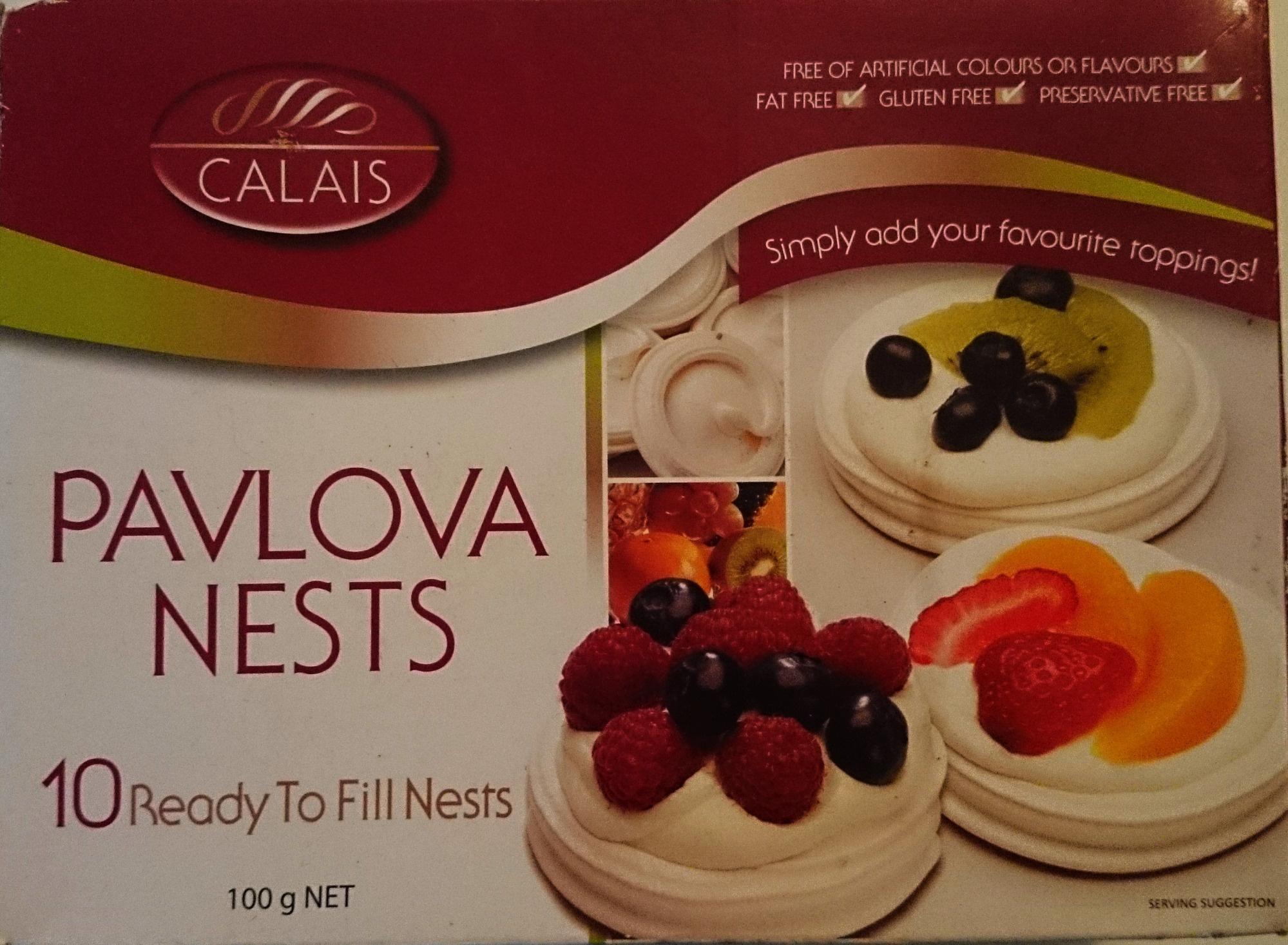 Calais Pavlova Nests - Product - en