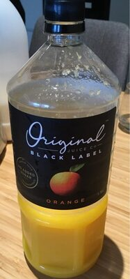 Original juice co- black label ORANGE - Product - en