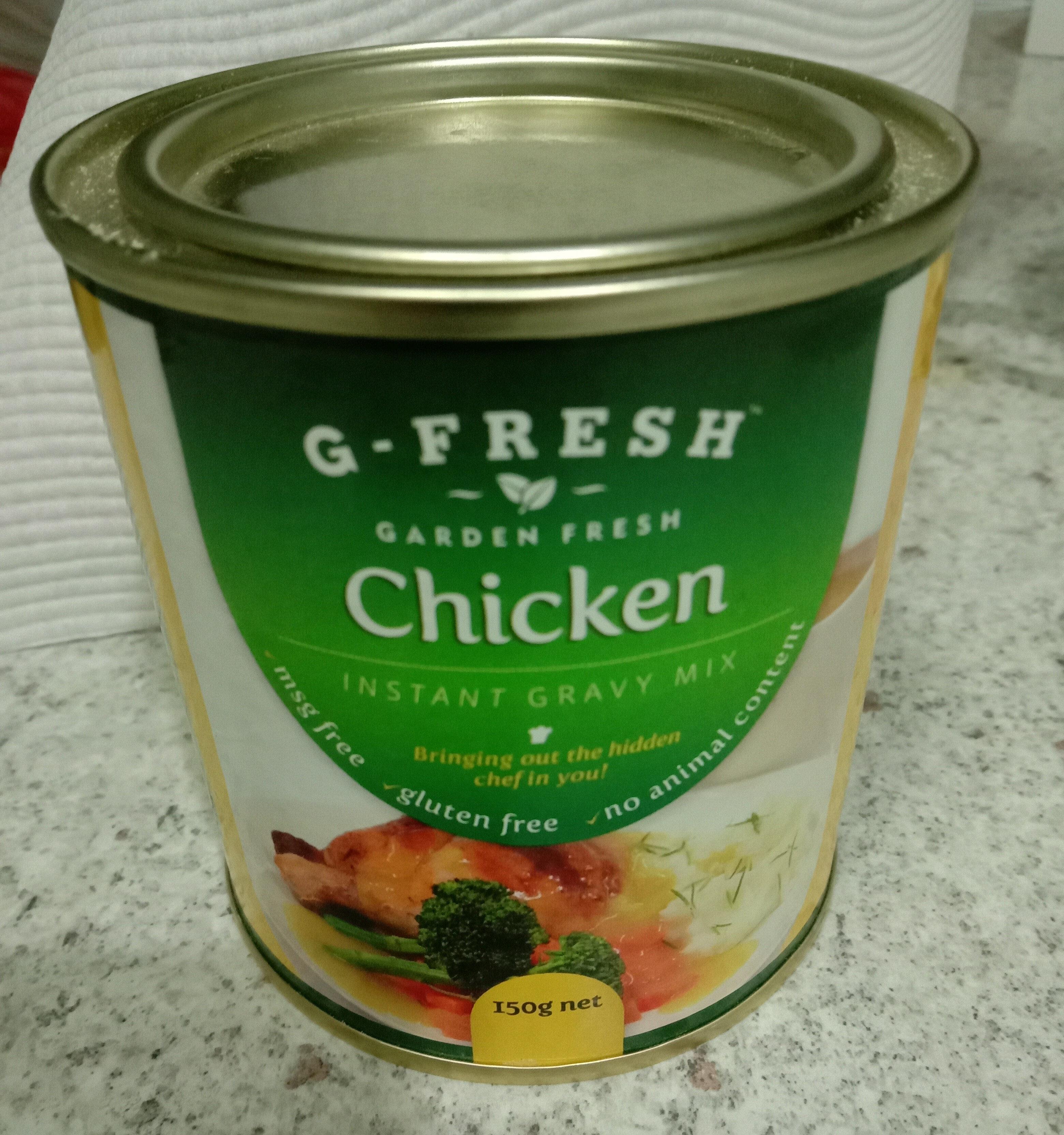 Chicken instant gravy mix - Product - en