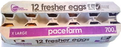 Pace Farm 12 Fresher Eggs X-Large - Product - en