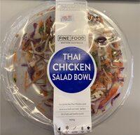 Thai chicken salad bowl - Product - en