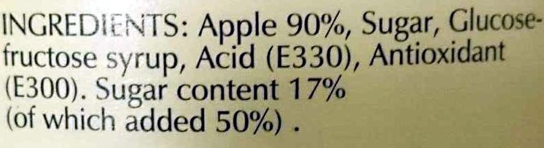 Appelmoes Applesauce Traditional Dutch Recipe - Ingredients - en