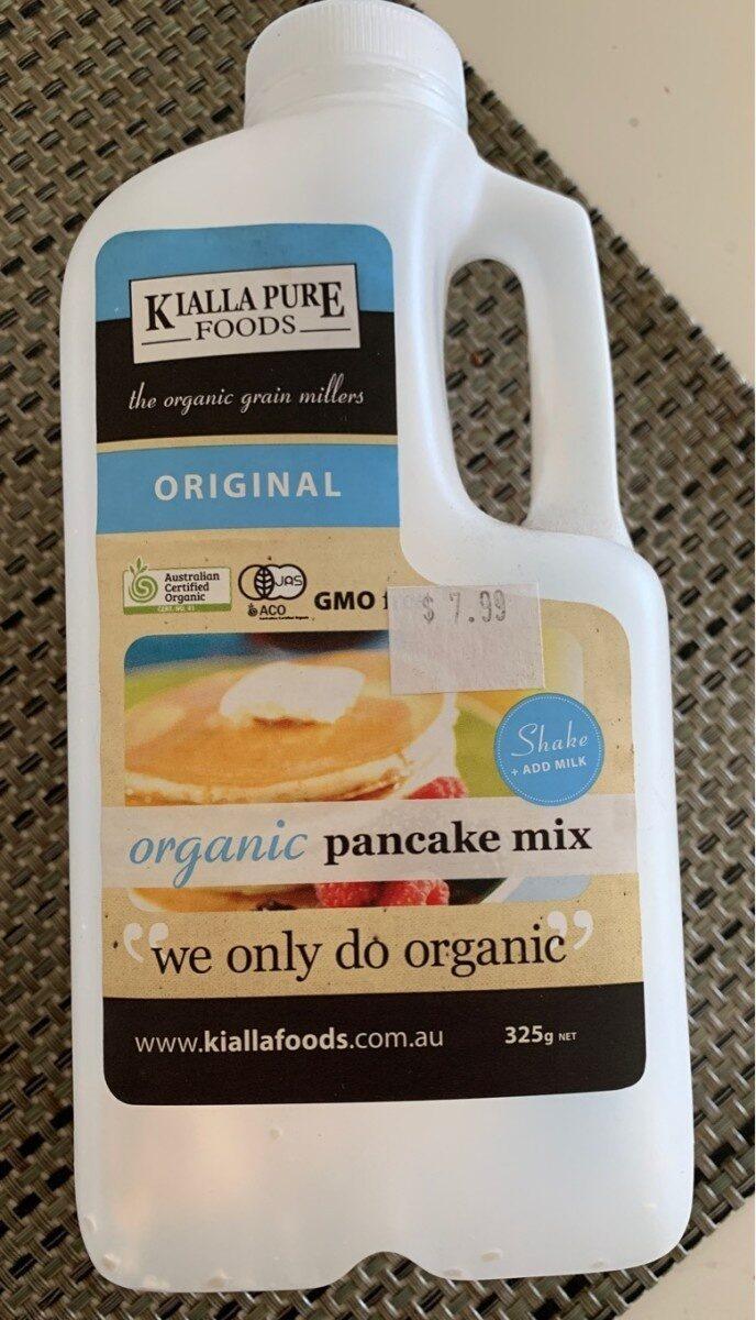 Organic pancake mix - Product - en