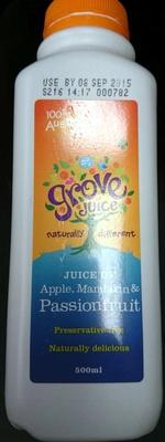 Juice of Apple, Mandarin & Passionfruit - Product