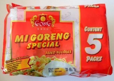 Gong Mi Goreng Special Fried Noodles 5 Pack - Produit - en