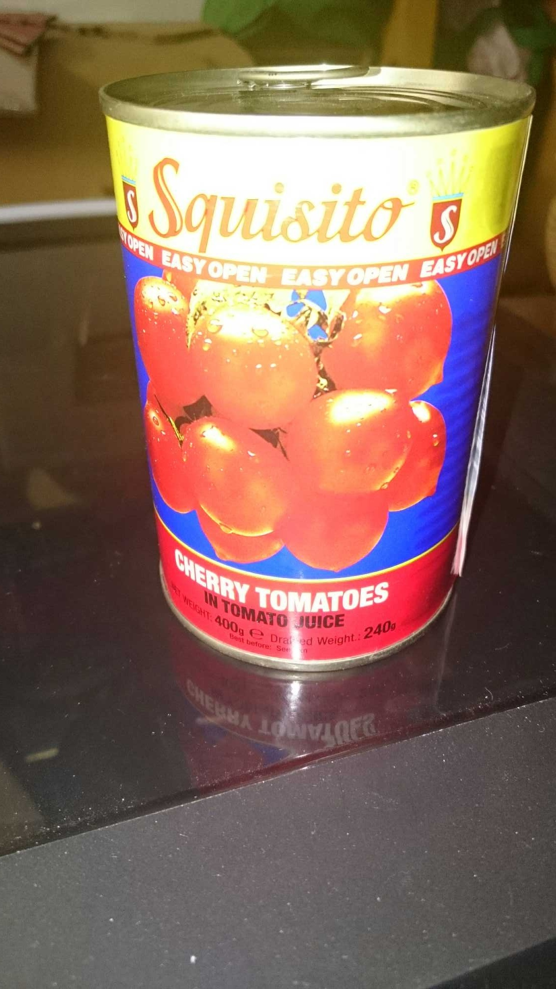 cherry tomatoes in tomato juice - Product - en