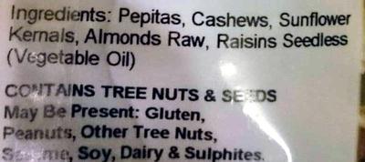 Low Cholesterol Mix - Ingredients - en