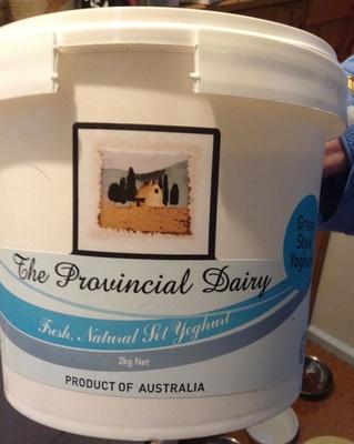 Fresh natural set yoghurt - Product