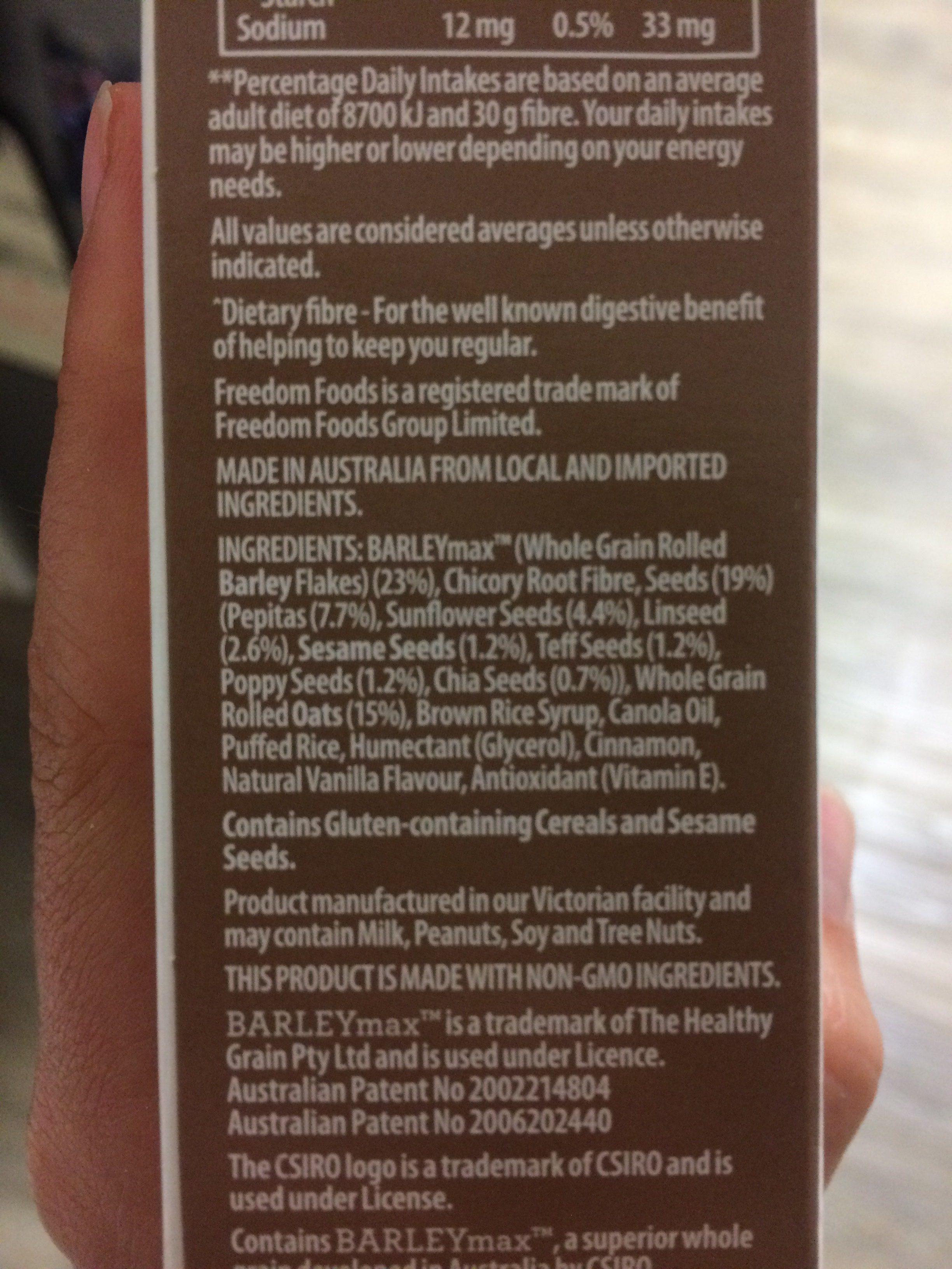 Barley - Ingredients - fr