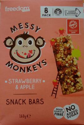 Strawberry & Apple Snack Bars - Produit - en