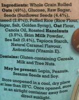 Heritage mill salted caramel hazelnut clusters - Ingredients - en