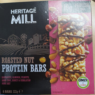 Roasted Nut Protein Bars - Product