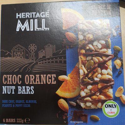 Choc Orange Nut Bars - 1