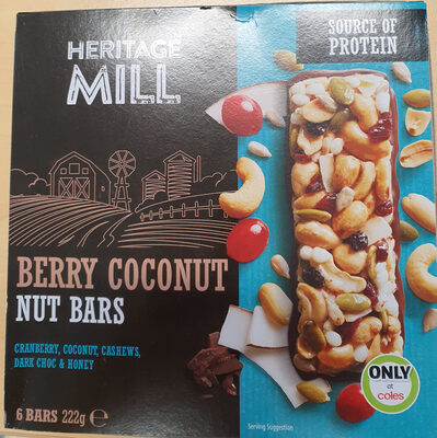 Berry Coconut Nut Bars - Product