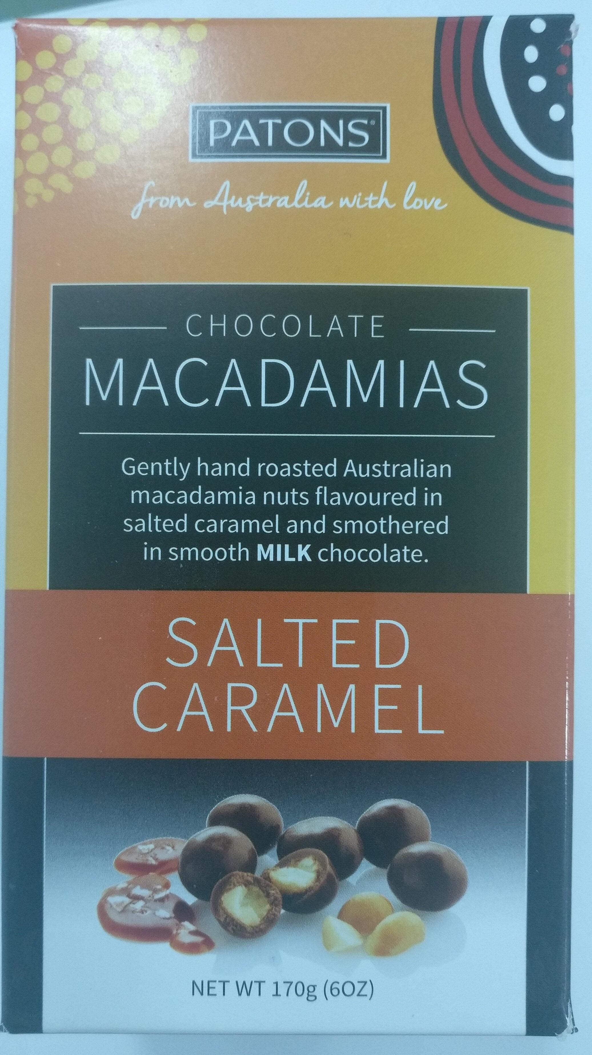 Chocolate Macadamias Salted Caramel - Product - en