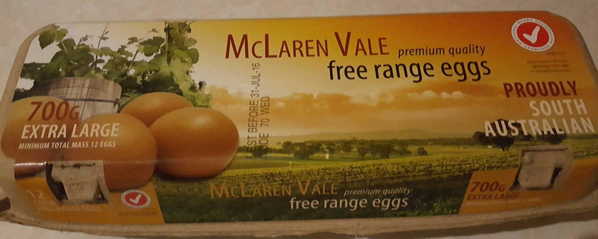 McLaren Vale Free Range Eggs - Product - en