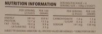 McLaren Vale Free Range Eggs - Nutrition facts - en