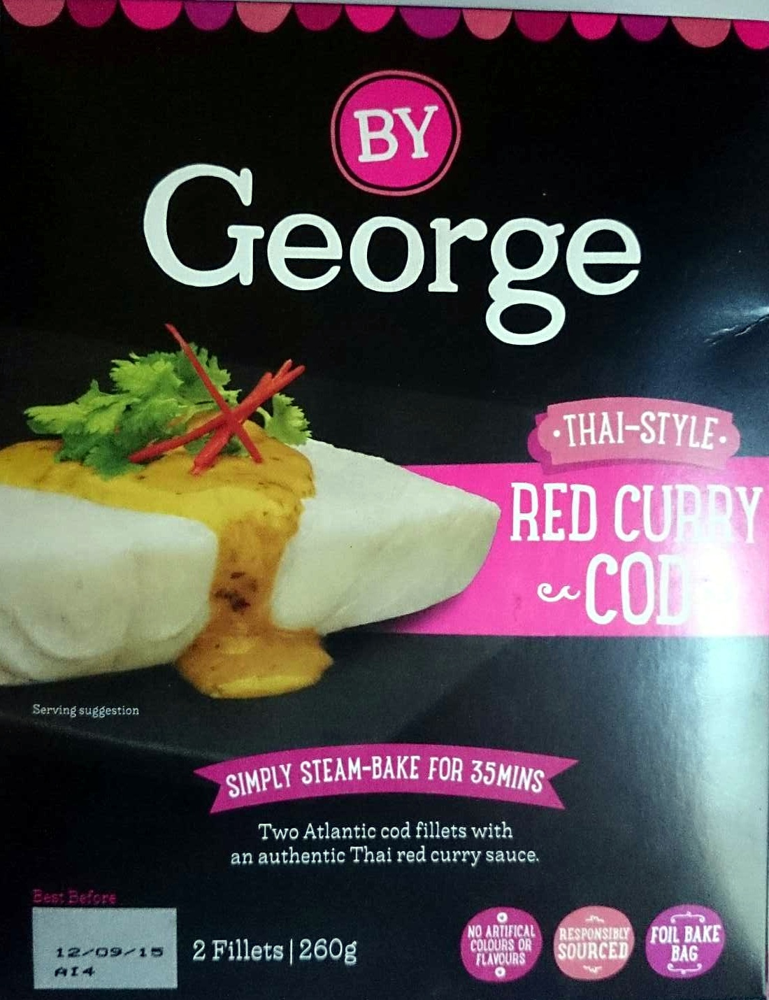 Thai Style Red Curry Cod - Product - en