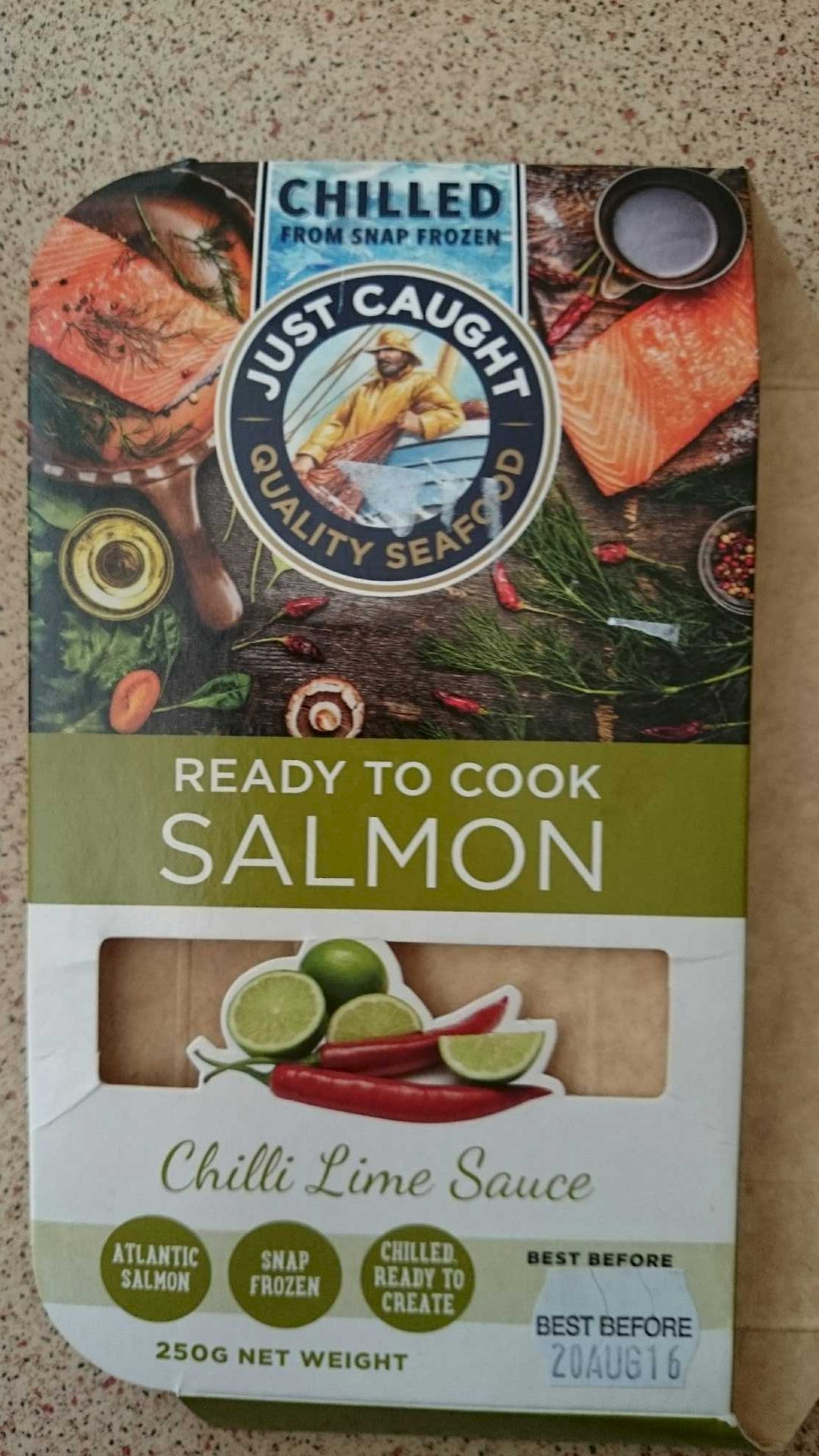 Ready to Cook Salmon - Product