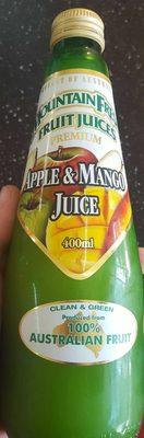Mountain Fresh Fruit Juices Apple and Mango Juice - Product - en