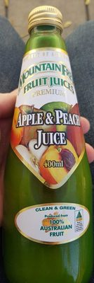 Premium Apple & Peach Juice - Product