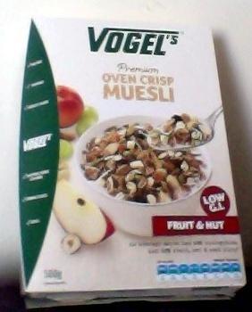 Vogel's Premium Oven Crisp Muesli Fruit & Nut - Product - en