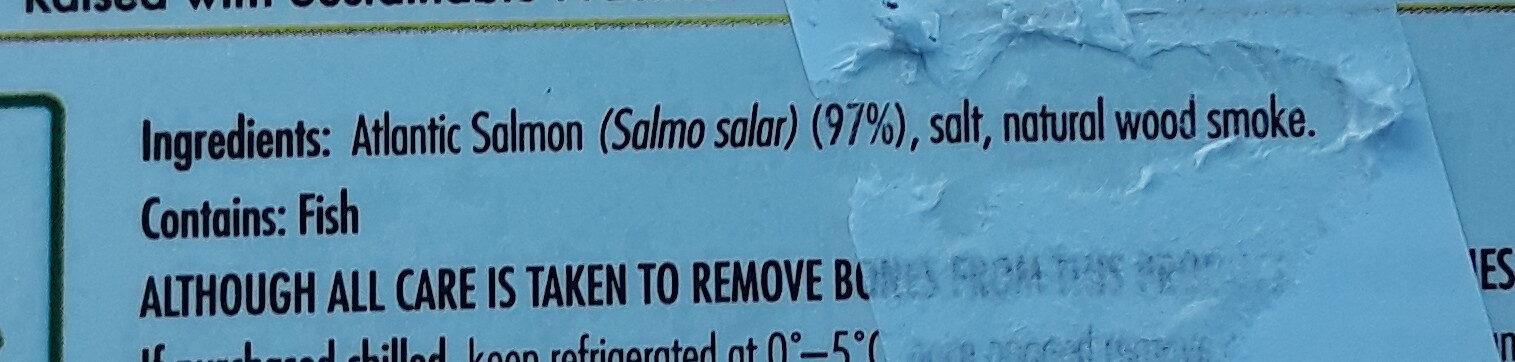 Tasmanian Cold Smoked Salmon - Ingredients - en