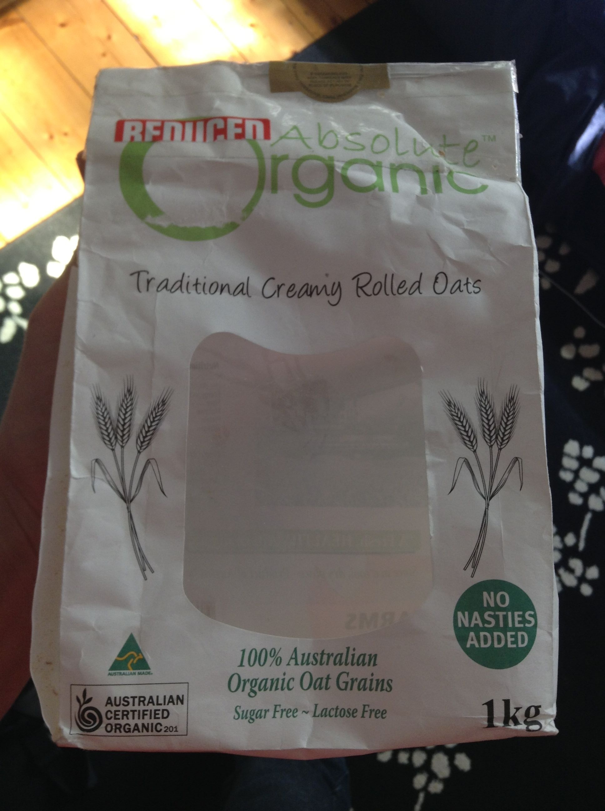 Traditional Creamy Rolled Oats - Product