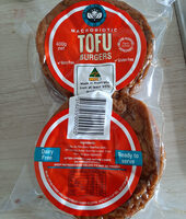 macrobiotic tofu burgers - Produit - en