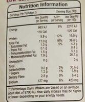 Nut mix - Nutrition facts - en