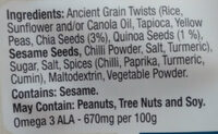 Ancient Grain Twists - Ingredients - en
