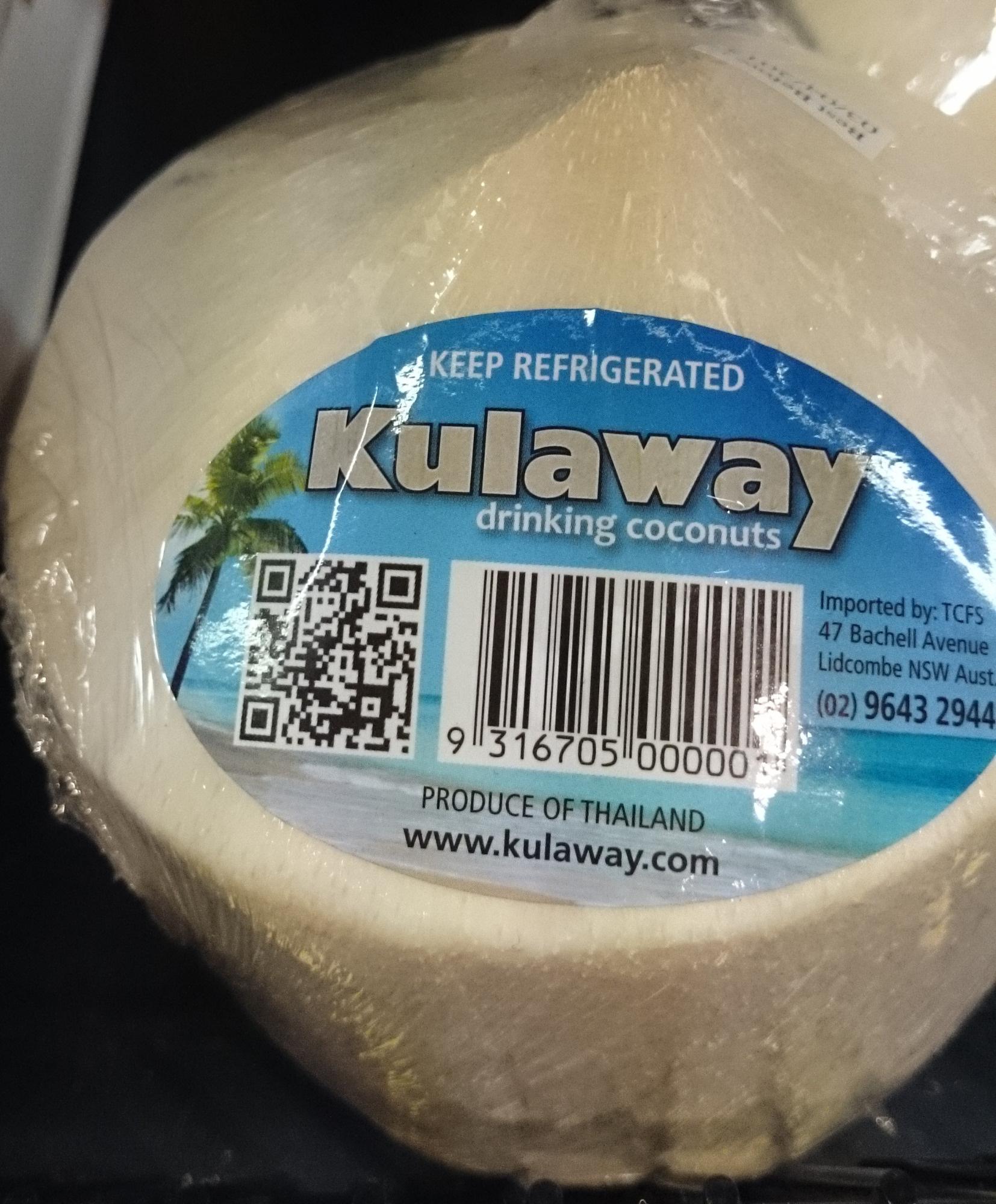 Kulaway Drinking Coconut - Product - en