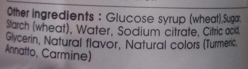 Blue Gum Vitamin C Gummy - Ingrediënten