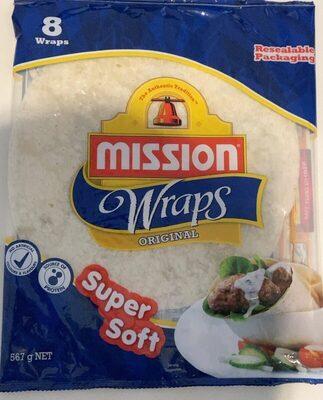 Mission Wraps Original Super Soft - Product - en