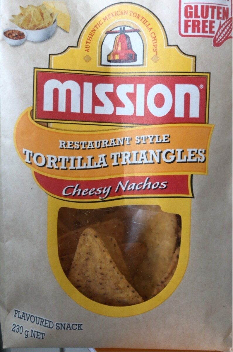 Tortilla Triangles Cheesy Nachos - Product - en