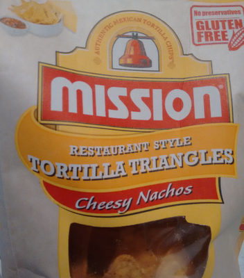 Tortilla Triangles (Cheesy Nachos) - Product