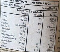 Tortilla Triangles Cheesy Nachos - Nutrition facts - en