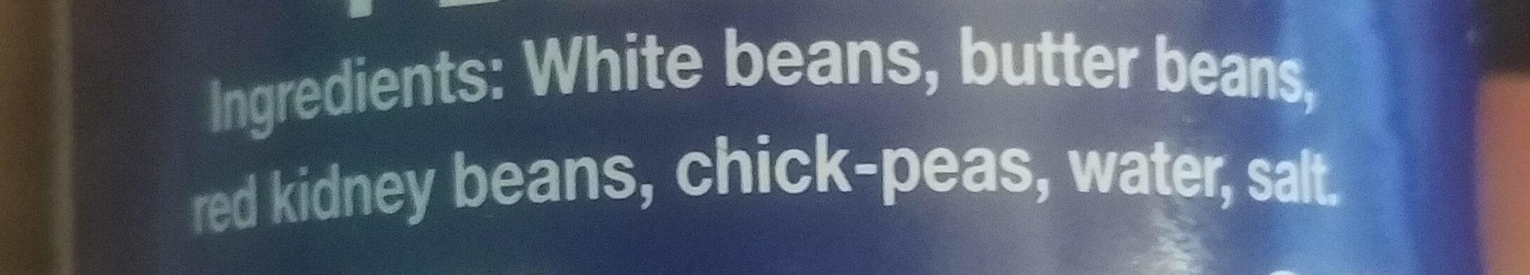 4 Bean Mix - Ingredients - en