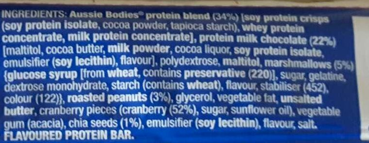 Protein Fx Lo Carb - Ingredients