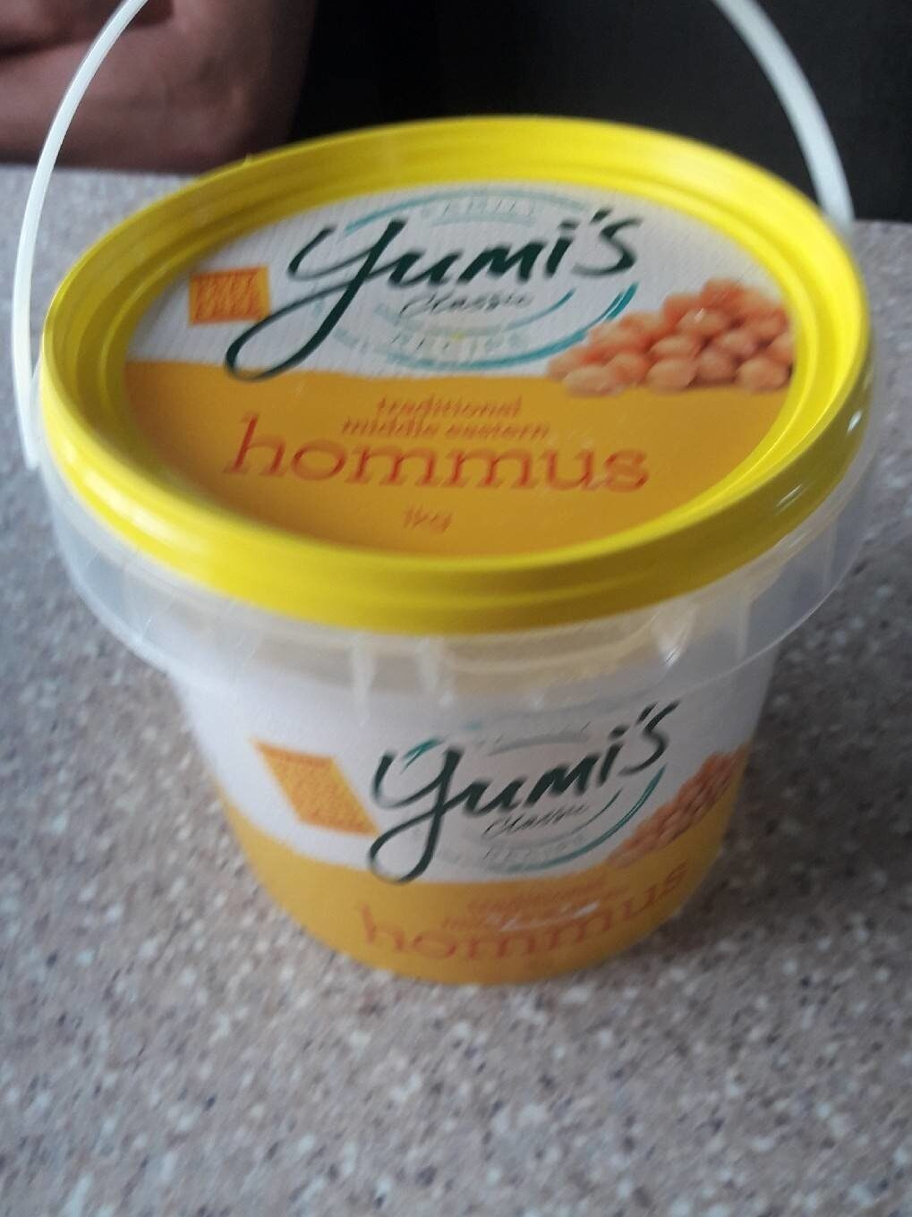 Traditional middle eastern hommus 1kg - Product - en